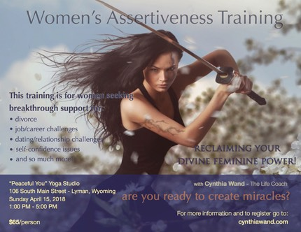 Assertiveness Training Wyoming Event